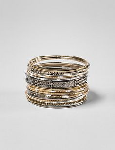 21-Piece Bangle Set