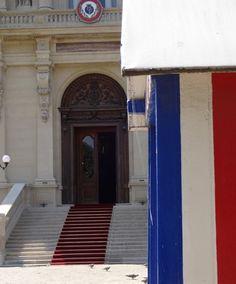 Le nouveau tapis rouge du Quai d'orsay c'est nous !!