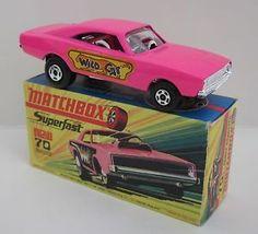 Matchbox Superfast 70b Dodge Dragster WILDCAT