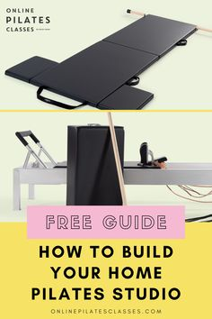 Here's a free guide on how you can build your own home Pilates Studio (Tips for any Size space) #pilatesmat #pilatesexercises #pilatesworkout #pilatesforbeginners #pilatestips #pilatesclass #pilatesmatworkout #matworkout #pilatesfitness #pilatesbasic #basicpilates #beginnerpilates #beginnerworkout #learnpilates #pilates Pilates Body, Pilates Reformer, Pilates Workout, Arm Toning Exercises, Fitness Exercises, Lifestyle Group, Healthy Lifestyle, Fitness Diet, Health Fitness