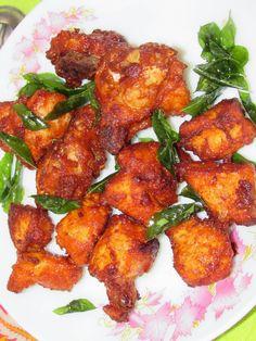 cookingcrest - non veg: Chicken 65 | Chilli chicken