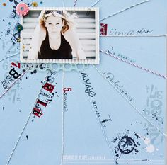 Scrap-Art-Design: I´m a fighter Freckled Fawn, Art Zine, Ny Life, Layout Inspiration, Scrapbooking Layouts, Layout Design, Creative, Blog, Polaroid Film