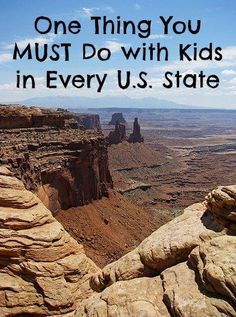 One Thing You MUST Do with Kids in Every U.S. State | travel tips | vacation | kids | travel | family