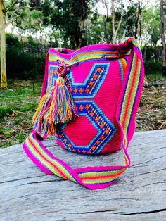 Indie Wayuu Mochilla Wayuu Bag Traditional Colombian by gypsykicks