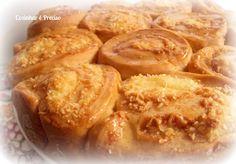 Caracóis de coco Receita: http://cozinharehpreciso.blogspot.com.br/