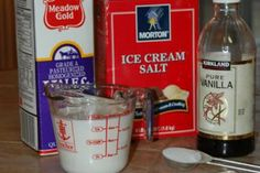 make your own ice-cream in a baggie