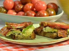 GZ's Ultimate BLT Recipe : Geoffrey Zakarian : Food Network - FoodNetwork.com  Wow!  I'm going to post this on my BACON board too!