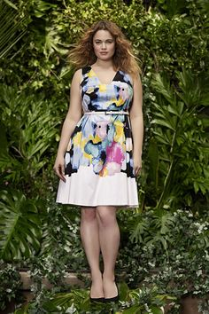 It's about time for some truly pretty & flattering looks - I like this dress - by Lane Bryant's Next Designer Collaboration Is A GOOD One  #refinery29  http://www.refinery29.com/lela-rose-lane-bryant-collaboration#slide10  Yet another charming option for all your spring and summer soirées.
