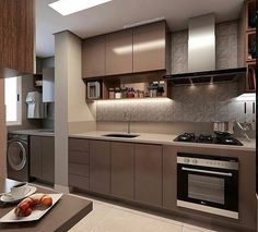 Cozinha linda adoro está cores e este revestimento Projeto Kitchen Cabinet Design, Kitchen Remodel, Contemporary Kitchen, Kitchen Modular, Kitchen Room Design, Kitchen Furniture Design, Latest Kitchen Designs, Modern Kitchen Design, Luxury Kitchen Design