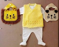 ♥ Hecho a mano ♥ MBelkis ♥: Baberos a crochet PATTERN