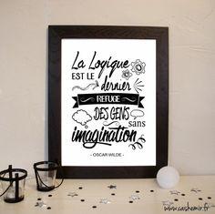 Affiche, Illustration, Poster - Citation - Fichier Imprimable - n°25 : Affiches, illustrations, posters par cashemir
