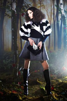Alice + Olivia | Fall/Winter 2014 Ready-to-Wear Collection via Stacey Bendet | February 10, 2014; New York | Style.com
