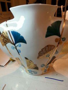 Autre côté du vase.