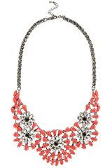CORAL STATEMENT #NECKLACE £40.00