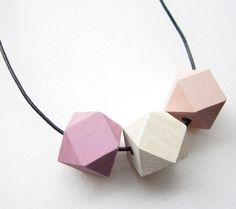 Kette mit Holz-Perlen // necklace with wooden pearls by Simple&Pure via DaWanda.com