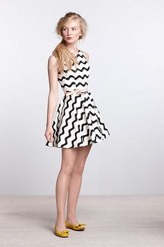 Waves Skater Dress - Anthropologie.com