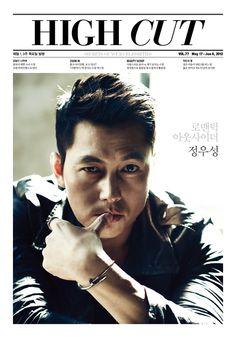 Fashion Korea: Jung Woo-sung for High Cut. (정우성)
