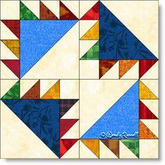 Barrister's Block quilt block