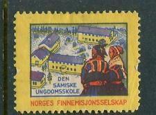 Norges Finnemisjonsselskap Seal/ Reklamemarke Poster Stamp
