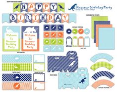Hey, I found this really awesome Etsy listing at https://www.etsy.com/listing/176406590/dinosaur-party-printable-package-instant