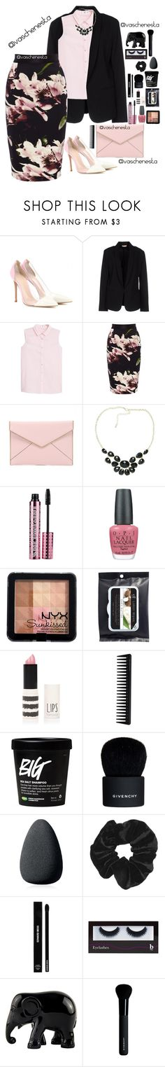 """""""Untitled #721"""" by loo0oove-16 ❤ liked on Polyvore featuring Gianvito Rossi, Maesta, MANGO, Coast, Rebecca Minkoff, Chicnova Fashion, Barry M, OPI, NYX and Topshop"""