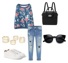 """""""Untitled #112"""" by iamvalerianl on Polyvore featuring MANGO, Mulberry, women's clothing, women's fashion, women, female, woman, misses and juniors"""