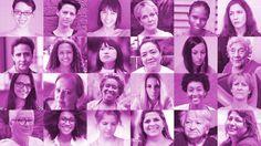Os lados A e B da campanha de conscientização sobre o câncer de mama