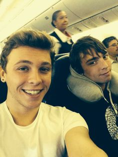 Imagine: Keaton and Wesley sending you a picture on the plane, saying they're on their way home and can't wait to see you.