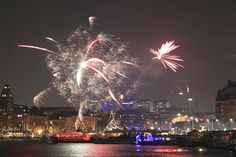New Year's Eve in Stockholm 2013  Photo: Lisah Silfwer