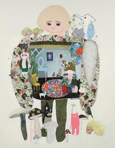 © Tomoko Nagai, 'Theater house', 2010.  Image via http://www.tomiokoyamagallery.com/artists_en/nagai_en/#