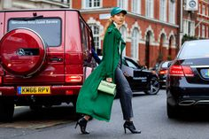 Tous les plus beaux street looks de la Fashion Week de Londres | Glamour