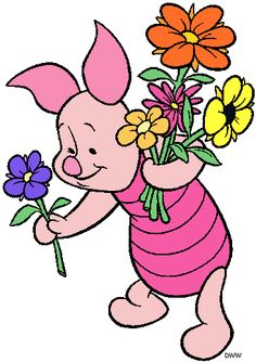 ♥ Piglet ♥ - ♥ Piglet ♥ You are in the right place about tiger tattoo Here we offer you the most beautiful p - Winnie The Pooh Decor, Piglet Winnie The Pooh, Winnie The Pooh Pictures, Winnie The Pooh Friends, Pooh Bear, Eeyore, Disney Winnie The Pooh, Tigger, Piglet Tattoo