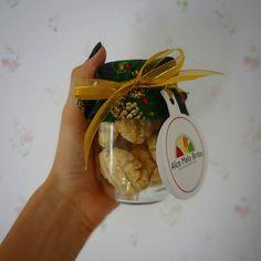 Que venham as comemorações!   Lembrancinha de Natal #nutriçaofuncional #christmaseve #mimo #vamosmelhoraromundo