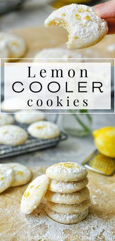 Easy Homemade Cookie Recipes, Healthy Cookie Recipes, Healthy Cookies, Fun Cookies, Real Food Recipes, Bar Recipes, Scone Recipes, Delicious Cookies, Cake Cookies