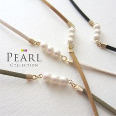 Silky pearl bracelet