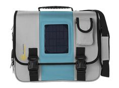 Sunplugged Urban Solar Messenger Bag