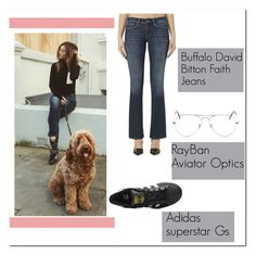 """""""Eleanor Calder on IG  25\2\2016"""" by lifeisworthlivingagain ❤ liked on Polyvore featuring adidas Originals and Ray-Ban"""