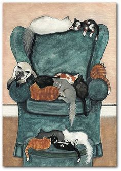 'The' favorite chair, by AmyLyn Bihrle