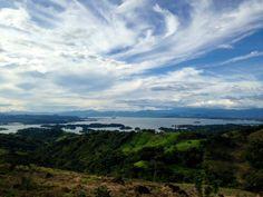 Embalse del Cerron Grande desde #Azacualpa, un humedal Ramsar en #ElSalvador | SUCHITOTO.TOURS@gmail.com