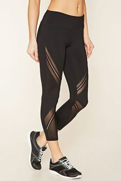 Forever 21 Active Mesh-Side Leggings ($15)