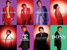 Which Brand do you like?👍 I like Tommy😄 real__pcy suho baekhyun sehun kai chen doexo xiumin Exo Chanyeol, Kyungsoo, K Pop, Exo Fanart, Kai, Exo Ot12, Exo Chanbaek, Exo Lockscreen, Exo Korean