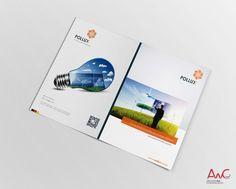 Desenvolvimento de Impressos Promocionais para o cliente: Pollux 3