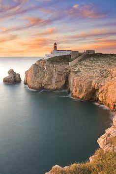 Cabo São Vicente. Tijdens een excursie dit uiterste puntje van Zuid Portugal ,Algarve, bezocht.