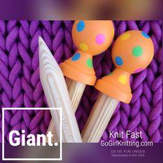 Giant Knitting & Crochet