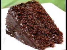 bolo de chocolate mais fácil do mundo. - YouTube