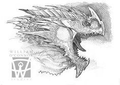 The Dracopedia Project: Dracopedia Sketchbook #001
