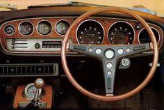 Dashboard Toyota Celica ST Coupe JP-spec (TA22) '1971–72