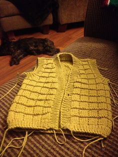 Ravelry: Project Gallery for Design F - Textured Cardigan and Waistcoat Vest pattern by Sirdar Spinning Ltd.