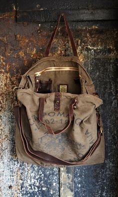 Worn Vintage Bag