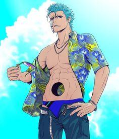grimm at the beach? Boys Anime, Hot Anime Guys, Manga Boy, Anime Love, Manga Anime, Bleach Fanart, Bleach Anime, Bleach Renji, Bleach Characters